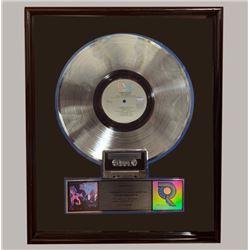 """David Bowie Platinum Record """"Let's Dance"""""""