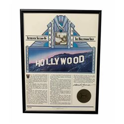 Original Section of the Hollywood Sign