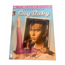 Tracy Lords Autographed Cry Baby DVD Cover