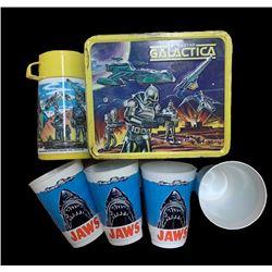 Vintage Lunchbox & Cup Set