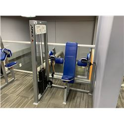 GREY APEX  SEATED TRICEP MACHINE