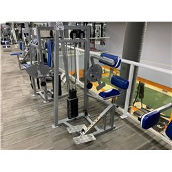 GREY APEX  SEATED AB CRUNCH MACHINE