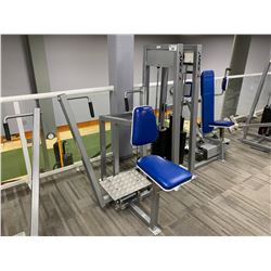 GREY APEX SEATED ROW MACHINE
