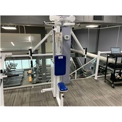 WHITE APEX SEATED REAR DELT/PEC FLY MACHINE