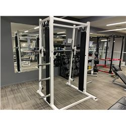 WHITE APEX SMITH RACK MACHINE