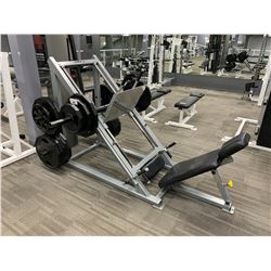 GREY APEX SEATED VERTICAL FREE WEIGHT LEG PRESS