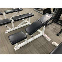 BLACK & WHITE APEX ADJUSTABLE WEIGHT BENCH