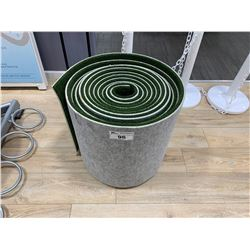 ROLL OF FAKE GRASS TURF EXERCISE MAT