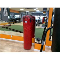 BOXING RED HEAVY BAG