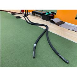 BLACK FITNESS TOWN BATTLE ROPE