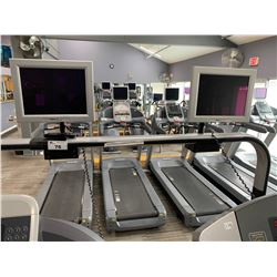 2 STATION COMMERCIAL CARDIO THEATRE SYSTEM WITH REMOTES