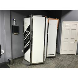 SUN CAPSULE VHR EURO SERIES VERTICAL TANNING BOOTH WITH CHANGE STATION