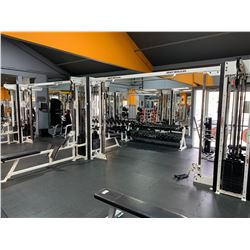 BODY MASTERS CIRCUIT MASTER 10 STATION CABLE/MULTI GYM MACHINE