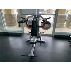 GREY COMMERCIAL FREE WEIGHT SHOULDER PRESS