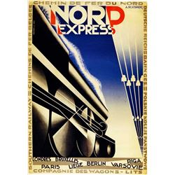 Adolphe Cassandre - Nord Express