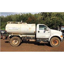 2006 Ford Water Truck 2000 Gallons-LOCATED ON KAUAI (Runs Drives Sprays Water See Video)