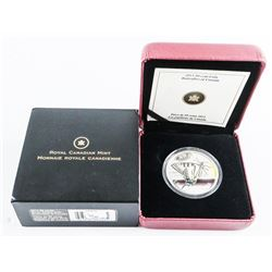 925 Sterling Silver Plated Coin, Butterflies of Ca