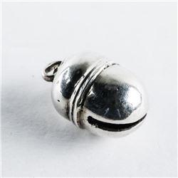 Estate Sterling Silver - Bell Pendant