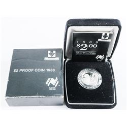 Royal Australian Mint, 925 Silver $2.00 Proof Coin