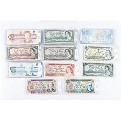 Estate Group Bank of Canada Notes, Mix of Years. 1