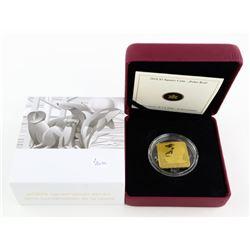 RCM 3.00 Polar Bear Coin 24kt Gold Plated/ 925 Sil