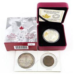 Royal Visit to Canada .9999 Fine Silver $25.00 Coi
