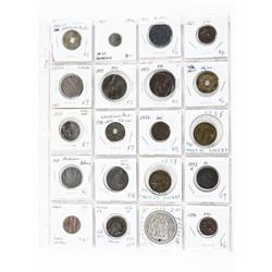 Grouping (20) World Coins: Italy, China, Austria,F