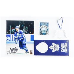 Wendel Clark 8x10 Photo Signed with TML Collectibl