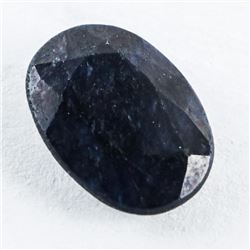 Loose Gemstone (5.34ct) Oval Cut Blue Sapphire TRR