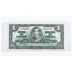 Bank of Canada 1937 1.00 C/T