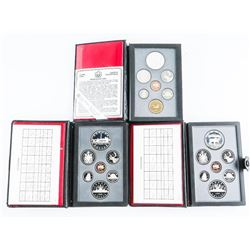 Group of (3) Proof Sets: 1984, 1985, 1988