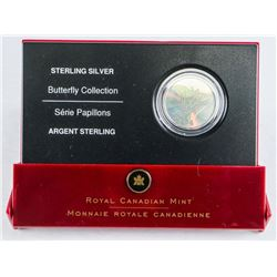 925 Sterling Silver Hologram Butterfly Coin (CE)