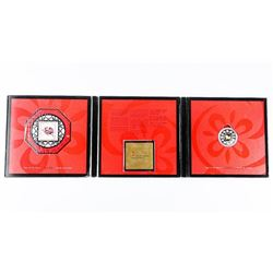 Chinese Lunar Coin Folio 'Year of the Horse' 925 S