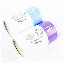 Group of (2) Special Wrap RCM Rolls, Canada 150 20