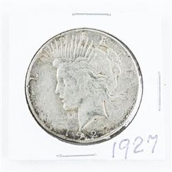 1927 USA Silver Peace Dollar