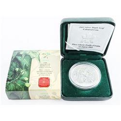 .9999 Fine Silver Maple Leaf Coin, Coloured 5.00 1