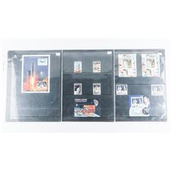 Lot 'Apollo II' Moon Landing Collector Stamps