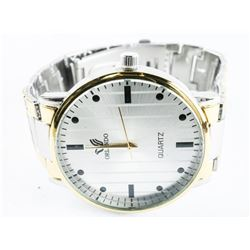 Gents Quartz Watch Two Tone - Stainless