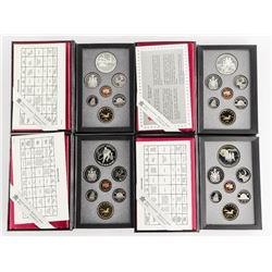Lot (4) Proof RCM Coin Sets: 1990, 1991, 1992, 199