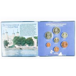 1982 UK UNC Coin Folio