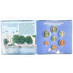 1982 UK UNC Coin Folio