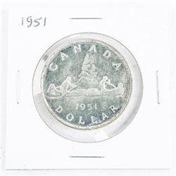 1951 CAD Silver Dollar Note Condition