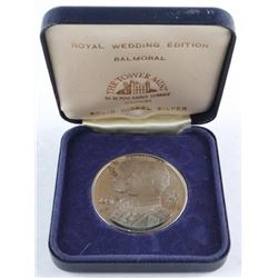 Tower Mint - 1981 Solid Nickel Silver Medal 'Royal