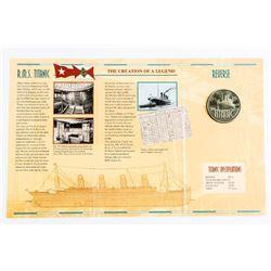R.M.S. Titanic Commemorative Medal Folio