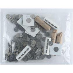 Estate Bag/Lot Canada 5 Cents. (ER)