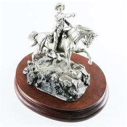 CHILMARK - Polland Fine Pewter Sculpture LE 'UNIT-