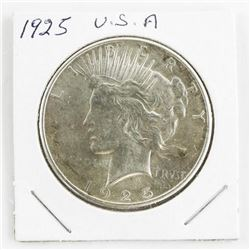 1925 USA Silver Dollar (GE)
