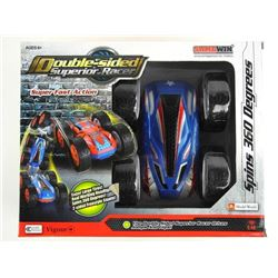 Double Sided Superior Racer, Jumps and Spins 360 d