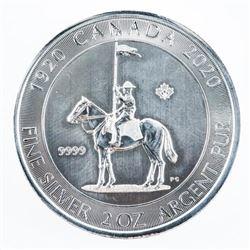 .9999 Fine Silver $10.00 Coin 'RCMP' 2oz