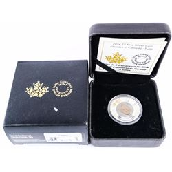 2014 .9999 Fine Silver and Niobium $5.00 Coin 'Tul